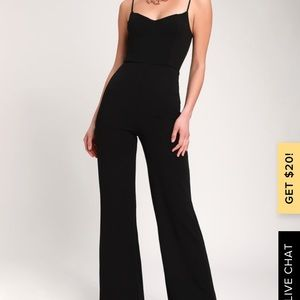 Tilia Black Wide-Leg Jumpsuit LULU's